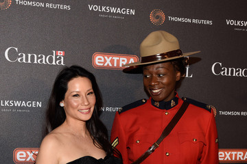 Lucy Liu The Hill, Extra And The Embassy Of Canada Celebrate The White House Correspondents' Dinner Weekend