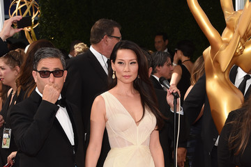 Lucy Liu Arrivals at the 66th Annual Primetime Emmy Awards — Part 2