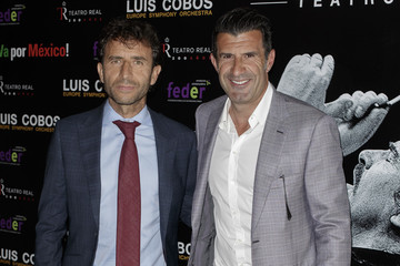 Luis Figo Luis Cobos Presents New Album In Madrid