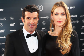 Luis Figo Red Carpet - 2017 Laureus World Sports Awards - Monaco