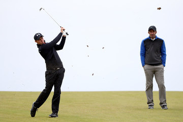 Luis Figo Alfred Dunhill Links Championship - Day Two