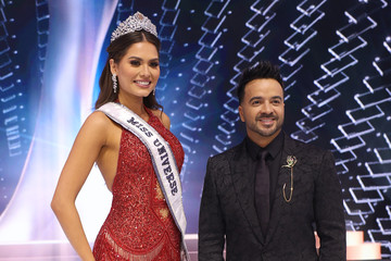 Luis Fonsi The 69th Miss Universe Competition