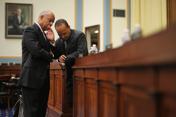 Luis Gutierrez Homeland Security Chief Jeh Johnson Testifies at Hearing on Oversight