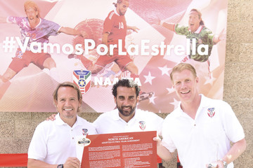 Luis Hernandez Estrella Jalisco's North American Adopted Football Team Agreement Press Conference