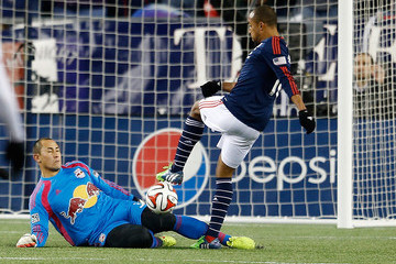 Luis Robles New York Red Bulls v New England Revolution - Eastern Conference Final - Leg 2