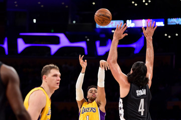 Luis Scola Brooklyn Nets v Los Angeles Lakers