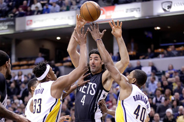 Luis Scola Brooklyn Nets v Indiana Pacers