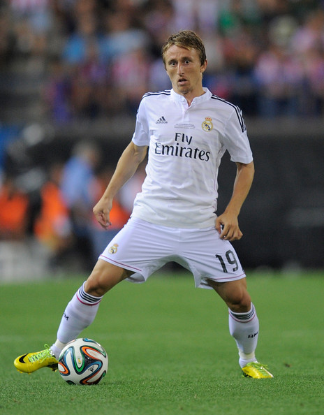 ... in this photo luka modric luka modric of real madrid in action during