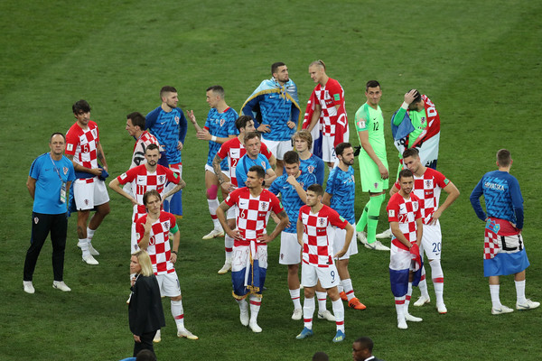 France v Croatia - 2018 FIFA World Cup Russia Final [team,sport venue,team sport,player,football player,stadium,sports,soccer player,championship,tournament,players,sides,russia,croatia,moscow,luzhniki stadium,france,2018 fifa world cup,final,croatia - 2018 fifa world cup]