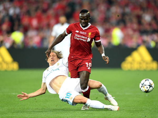 Image result for Luka Modric vs Liverpool