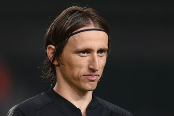Luka Modric Spain vs. Croatia - UEFA Nations League A