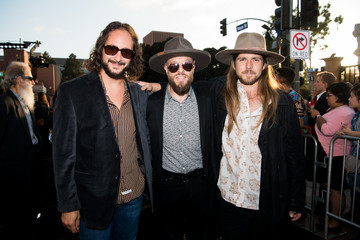 Lukas Nelson Premiere Of Warner Bros. Pictures' 'A Star Is Born' - Red Carpet