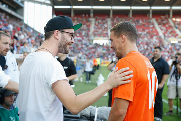 Lukas Podolski 'Champions for Charity' Football Match in Mainz