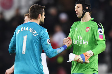 Lukasz Fabianski Swansea City v Arsenal - Premier League