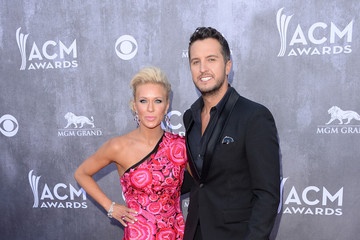Luke Bryan Arrivals at the Academy of Country Music Awards — Part 2