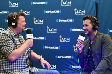 Luke Bryan SiriusXM's The Highway Channel Broadcasts Backstage Leading Up To The American Country Music Awards at the T-Mobile Arena