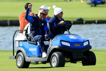 Luke Donald 2018 Ryder Cup - Morning Fourball Matches
