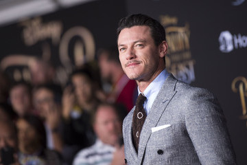 Luke Evans Premiere Of Disney's 'Beauty And The Beast' - Arrivals