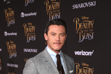 Luke Evans The World Premiere Of Disney's Live-Action 'Beauty And The Beast'