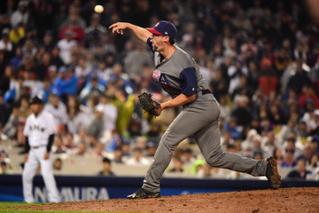 Luke Gregerson World Baseball Classic - Championship Round - Game 2 - United States v Japan