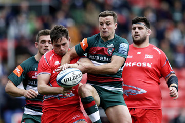 Luke James Leicester Tigers vs. Sale Sharks - Gallagher Premiership Rugby
