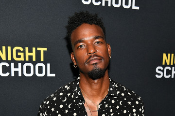 Luke James 'Night School' Red Carpet Screening With Kevin Hart And Will Packer At Regal Atlantic Station