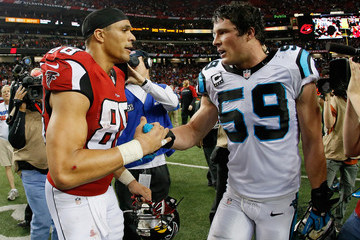 Luke Kuechly Carolina Panthers v Atlanta Falcons