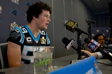 Luke Kuechly Carolina Panthers Media Availability