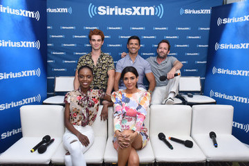 Luke Perry KJ Apa SiriusXM's Entertainment Weekly Radio Broadcasts Live From Comic Con in San Diego