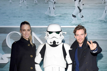Luke Treadaway Red Carpet Arrivals Of Lucasfilm's 'Rogue One: A Star Wars Story'
