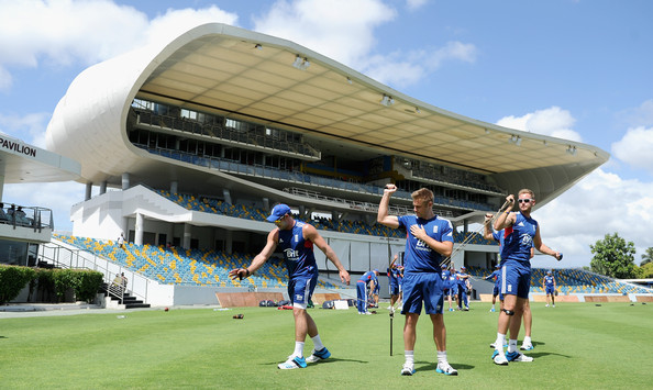 England and West Indies Nets Session []