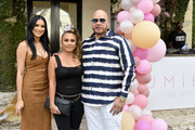 Michelle Pooch, Lorena Cartagena and Fat Joe attend the Lumiere De Vie Resort during Art Basel on December 4, 2018 in Miami Beach, Florida.
