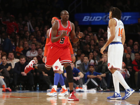 Luol+Deng+Chicago+Bulls+v+New+York+Knick