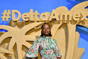Lupita Nyong'o celebrates the relaunch of The Delta SkyMiles® American Express Cards at Helen Mills Event Space on February 06, 2020 in New York City.