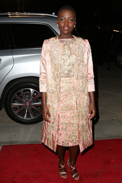 Lupita Nyong'o - Mercedes-Benz Arrivals At The Palm Springs Film Festival