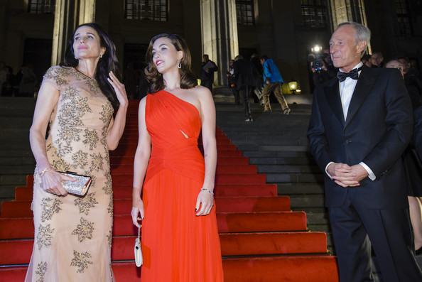 Celebs at the Prix Montblanc