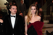 """Karl Glusman and Abbey Lee attend the screening of """"Lux Aeterna"""" during the 72nd annual Cannes Film Festival on May 18, 2019 in Cannes, France."""