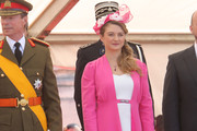 Princess Stephanie of Luxembourg celebrates National Day during the parade on June 23, 2014 in Luxembourg, Luxembourg.