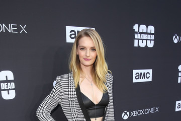 Lydia Hearst 'The Walking Dead' 100th Premiere and Party