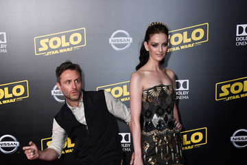 Lydia Hearst Chris Hardwick Premiere Of Disney Pictures And Lucasfilm's 'Solo: A Star Wars Story' - Arrivals