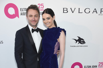Lydia Hearst Chris Hardwick 26th Annual Elton John AIDS Foundation Academy Awards Viewing Party sponsored by Bulgari, celebrating EJAF and the 90th Academy Awards - Red Carpet