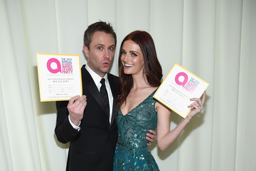 Lydia Hearst Chris Hardwick 24th Annual Elton John AIDS Foundation's Oscar Viewing Party - Red Carpet