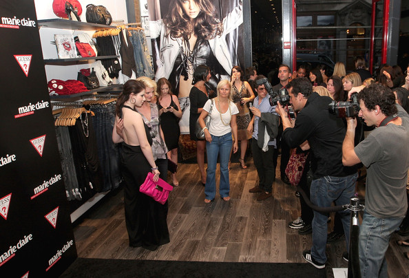 GUESS and Marie Claire Host Opening of GUESS Flagship - Inside