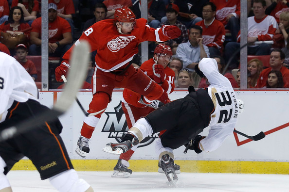 Anaheim Ducks v Detroit Red Wings - Game Three