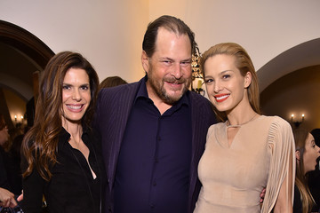 Lynne Benioff The Dinner For Equality Co-Hosted By Patricia Arquette And Marc Benioff