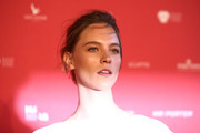 Nicole Pollard attends the inaugural Museum of Applied Arts and Sciences (MAAS) Centre for Fashion Bal at Powerhouse Museum on February 1, 2018 in Sydney, Australia.