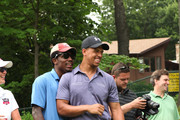Dallas Cowboys wide receiver Kevin Ogletree and Dallas Cowboys wide receiver Miles Austin enjoy the First Annual Austin Family Foundation Golf Outing sponsored by MARTINI Moscato d'Asti at North Jersey Country Club on June 27, 2011 in Wayne, New Jersey. Proceeds to benefit the Garfield Boys and Girls club and the Garfield High School Chapter of the Lindsey Meyer Teen Institute.