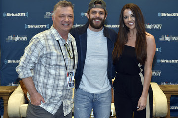 MC Callahan SiriusXM's The Highway Channel Broadcasts Backstage Leading Up To The ACMs