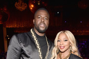 """Winston Duke and Mary J. Blige attend the premiere of """"The Remix: Hip Hop x Fashion"""" at Tribeca Film Festival at Spring Studios on May 02, 2019 in New York City."""