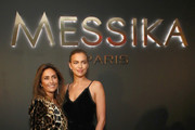 Valerie Messika and Irina Shayk attend the MESSIKA Party, NYC Fashion Week Spring/Summer 2019 Launch Of The Messika By Gigi Hadid New Collection at Milk Studios on September 12, 2018 in New York City.